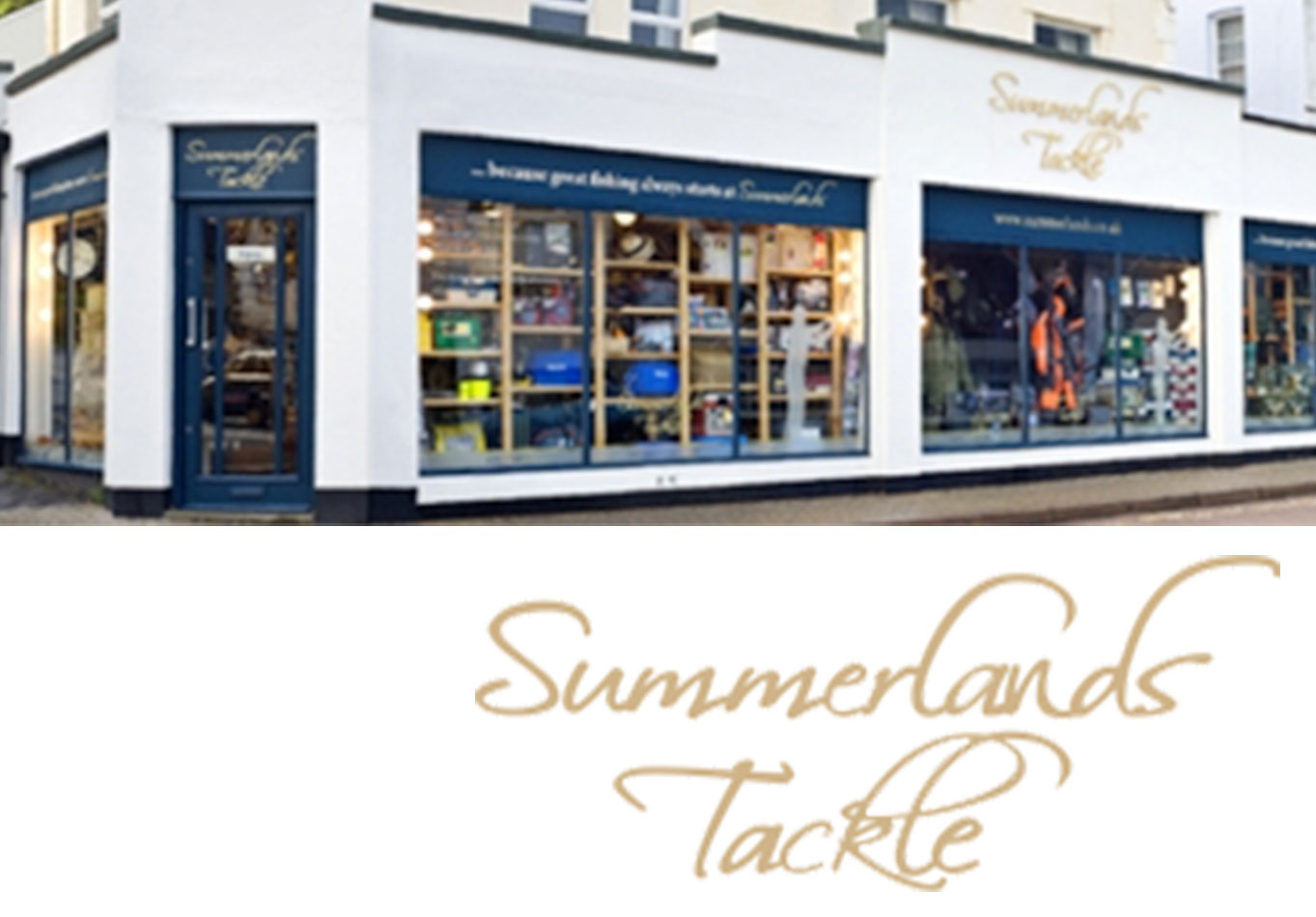 Banner linking to the Summerlands Tackle Website